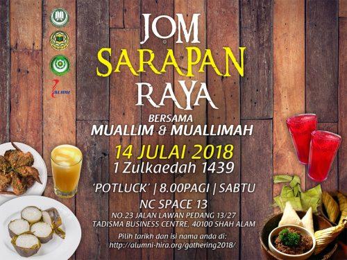 Jom Sarapan Raya 2018